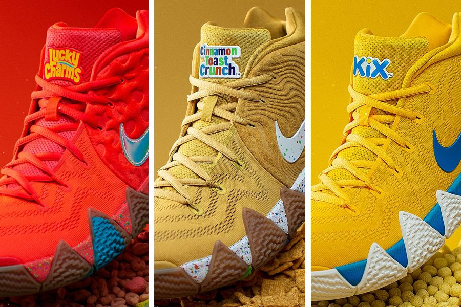 Nike Kyrie 4 Cereal Pack Release Date Price Info