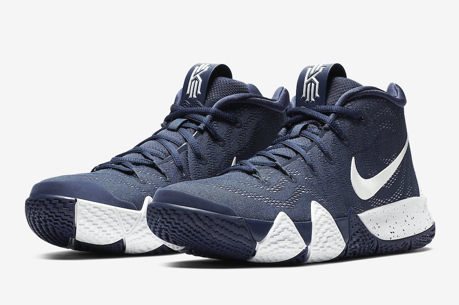 eeef313475b Nike Kyrie 4 College Navy 943806-402 Release Date