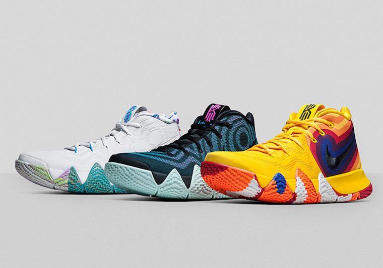 Nike Kyrie 4 Decades Pack Release Date