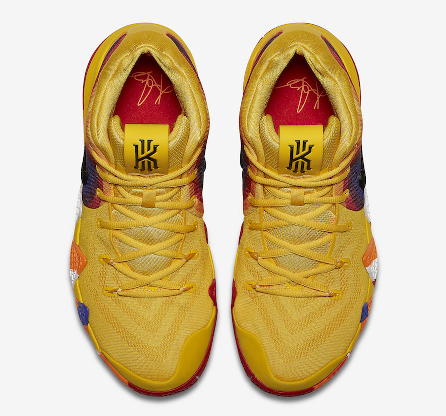 Nike Kyrie 4 Uncle Drew Yellow Multicolor 943807-700