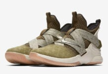 Nike LeBron Soldier 12 Land and Sea AO2609-300