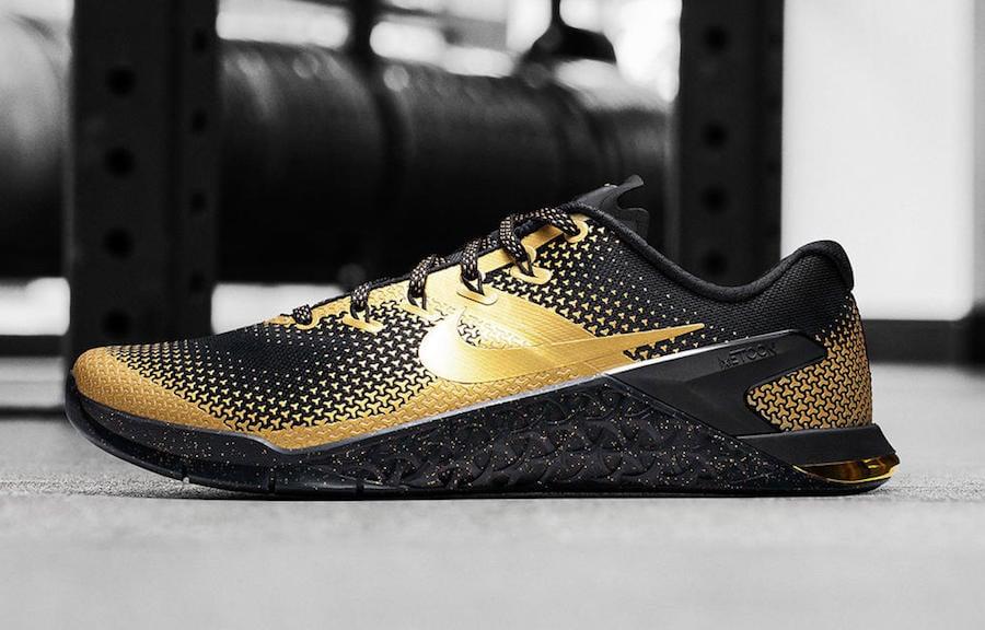 Nike Metcon 4 Mat Fraser Black Gold