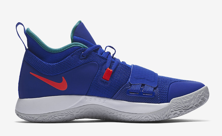 Nike PG 2.5 Racer Blue Fortnite BQ8452-401