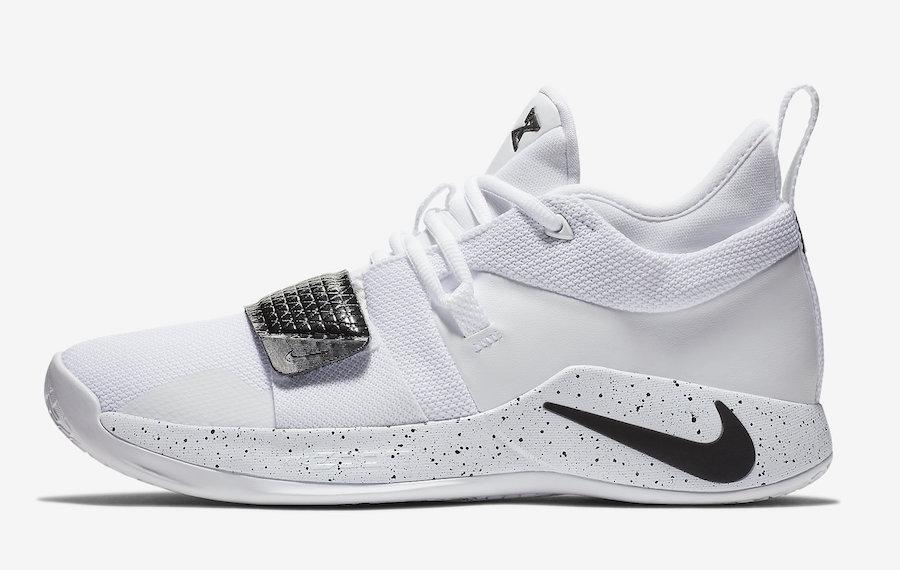 Nike PG 2.5 White Black BQ8454-100