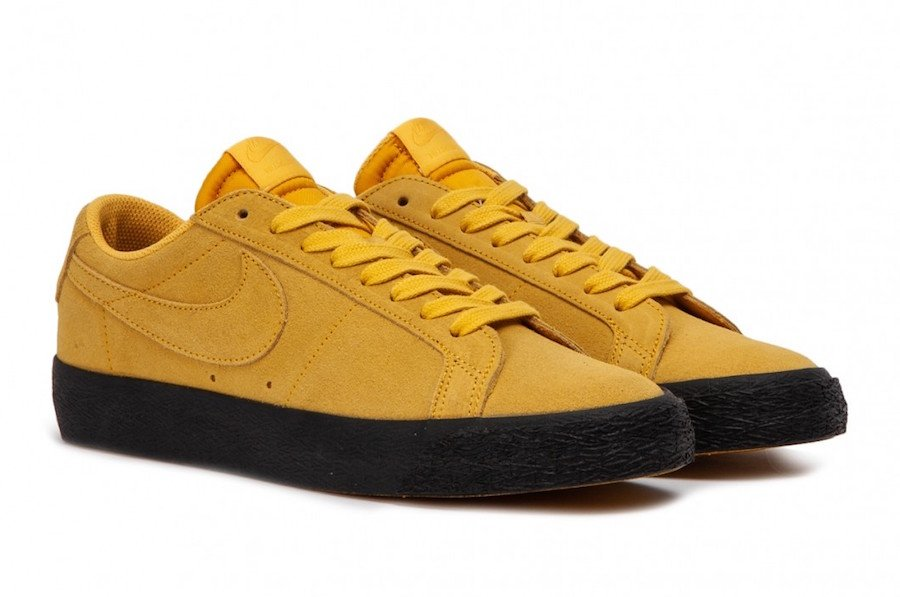 Nike SB Zoom Blazer Low Yellow Ochre 864347 701 | SneakerFiles