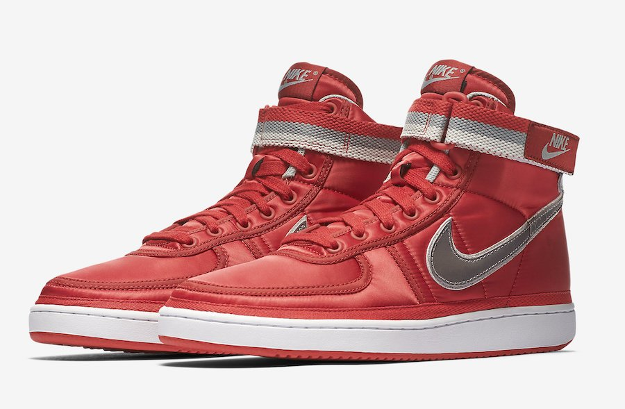 Nike Vandal High Supreme University Red Metallic Silver AH8652-600