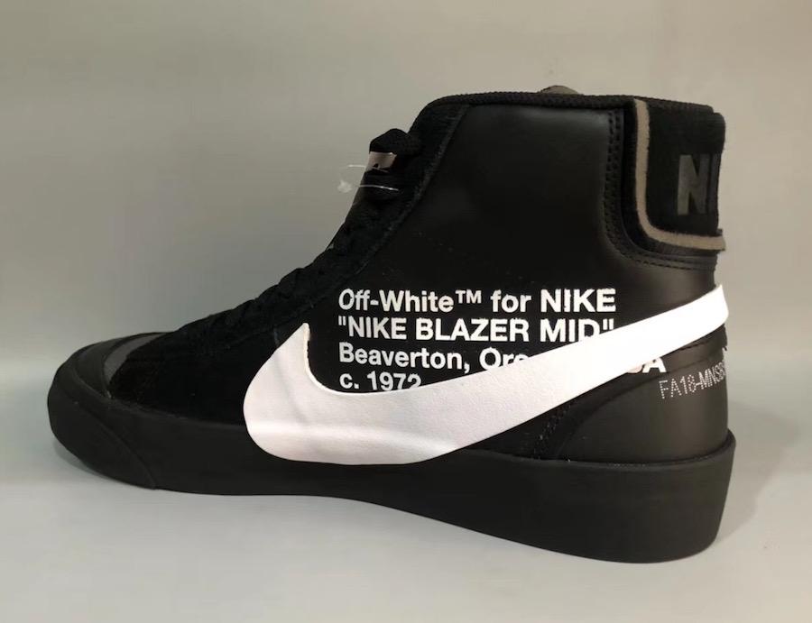 Off-White Nike Blazer Black AA3832-001 2018
