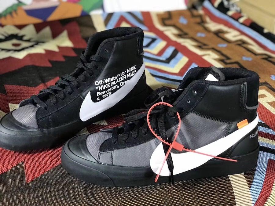 Off-White Nike Blazer Black AA3832-001 Release Date  1301100b3