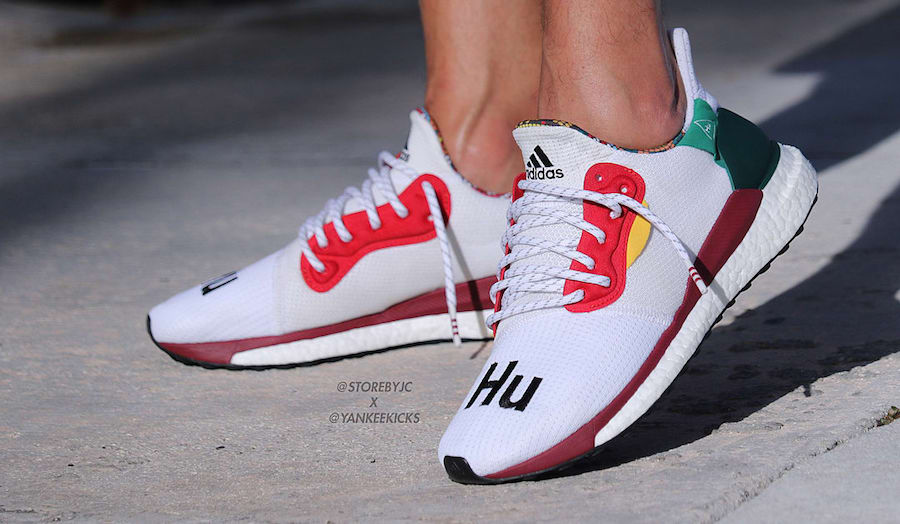 Pharrell adidas Solar Glide Hu ST White