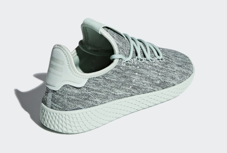 Pharrell adidas Tennis Hu Green DB2859