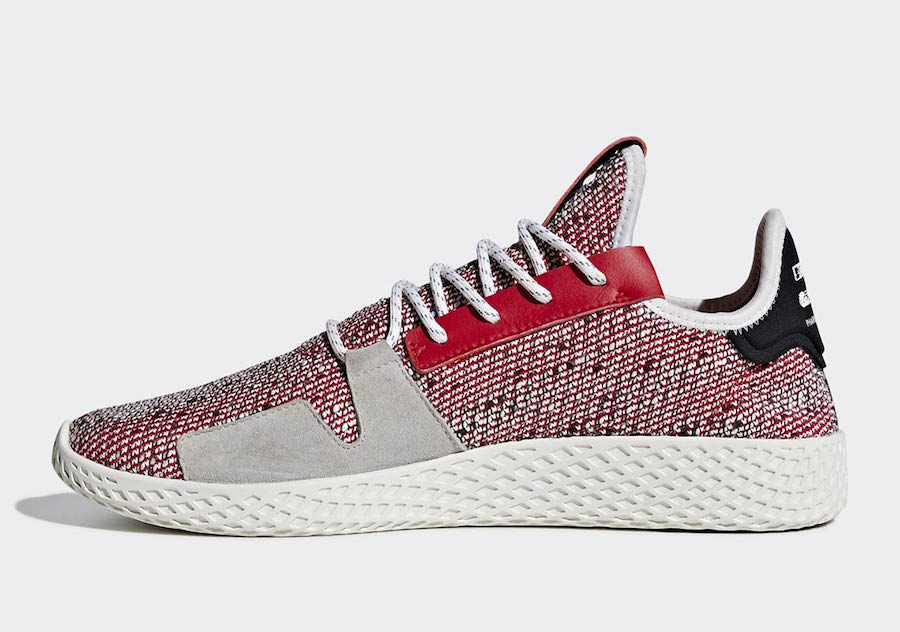 Pharrell adidas Tennis Hu V2 Red BB9542