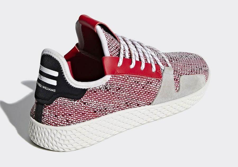 cf981672d Pharrell adidas Tennis Hu V2 BB9453 BB9452 Release Date