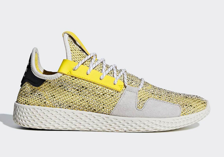 Pharrell adidas Tennis Hu V2 Yellow BB9543