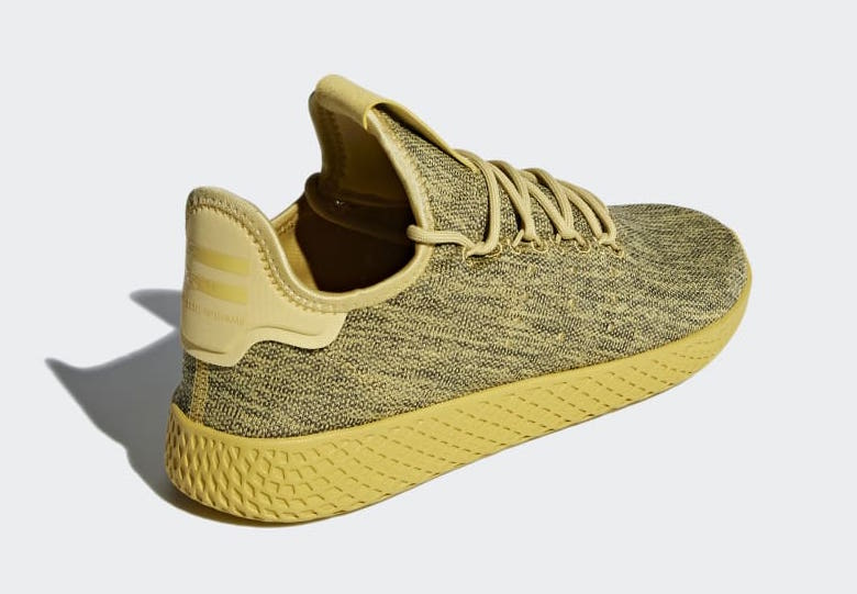 Pharrell adidas Tennis Hu Yellow DB2860
