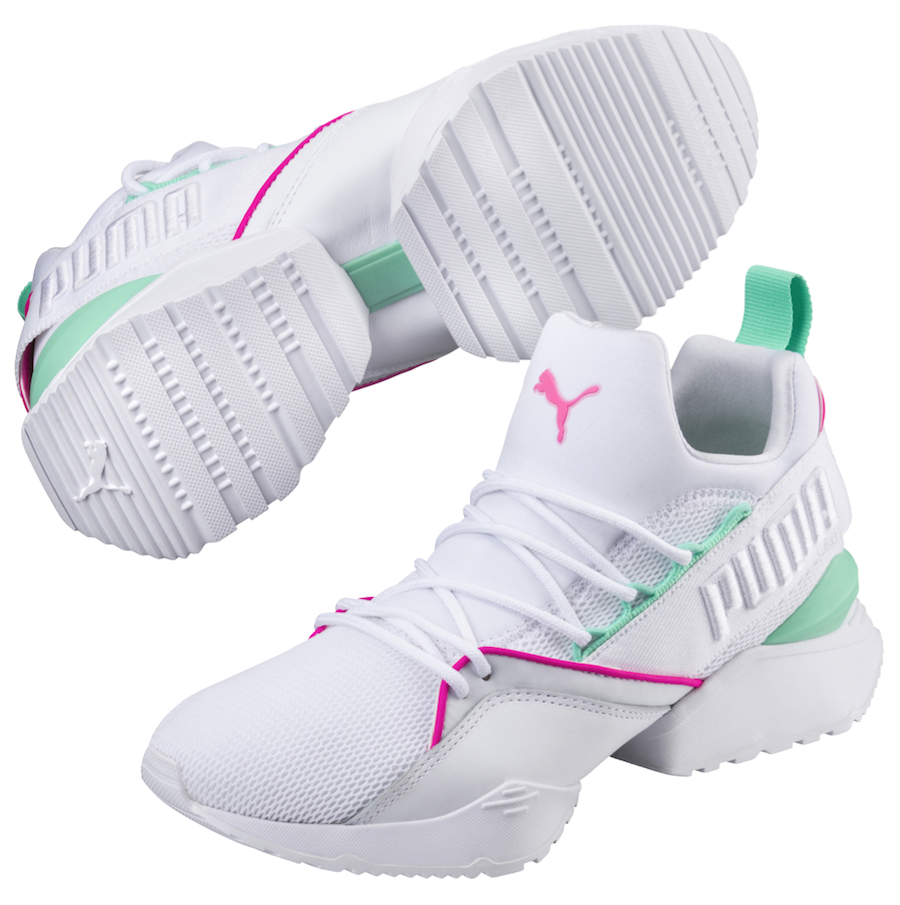 Puma Muse Maia Street Knockout Pink Biscay Green