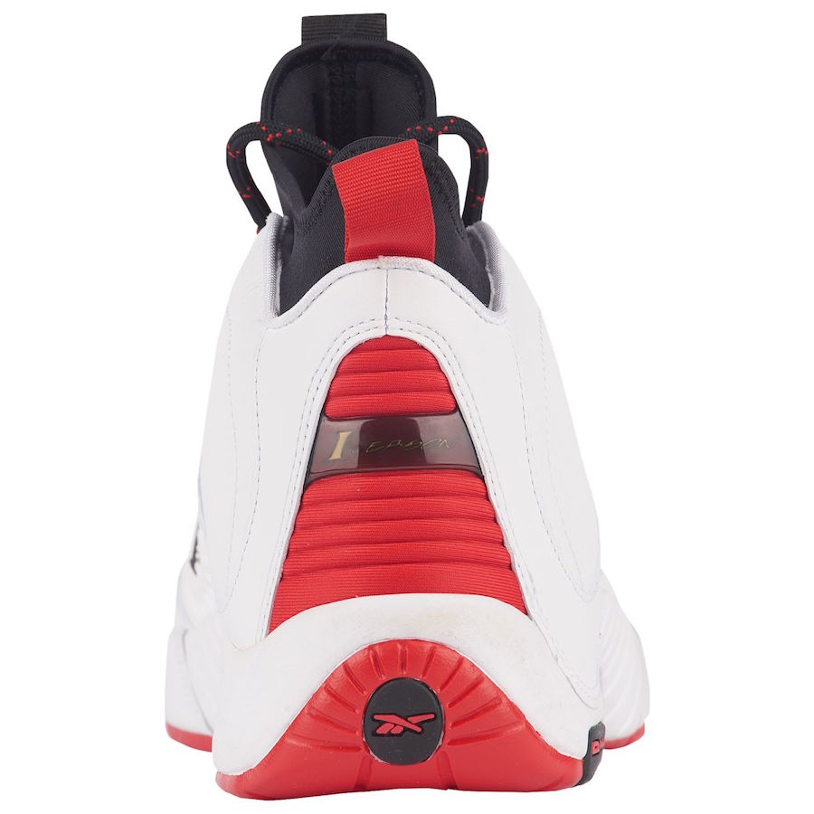 Reebok Answer 4.5 White Red CN6848 Release Date
