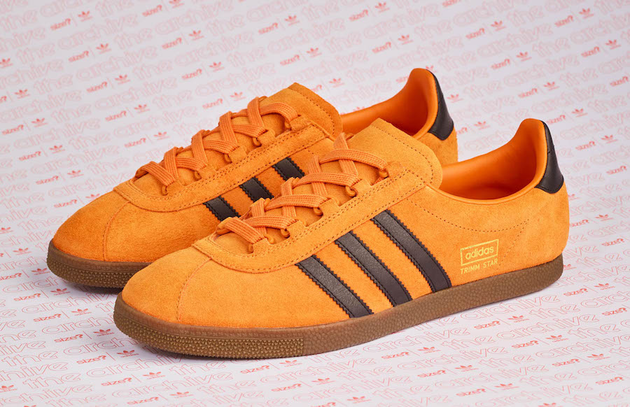 size? Exclusive adidas Archive Trimm Star Pumpkin