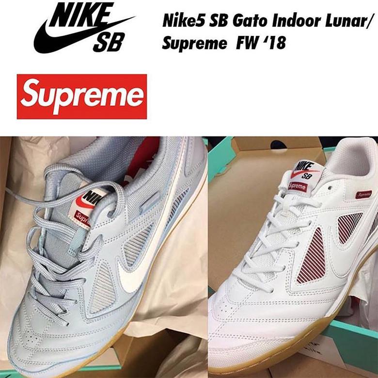 Supreme Nike5 SB Lunar Gato Indoor Release Date