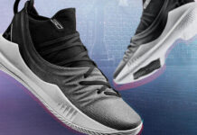 Under Armour Curry 5 Black White