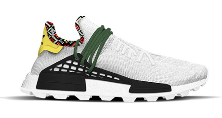 adidas NMD Hu Inspiration Pack White Green Yellow EE7583