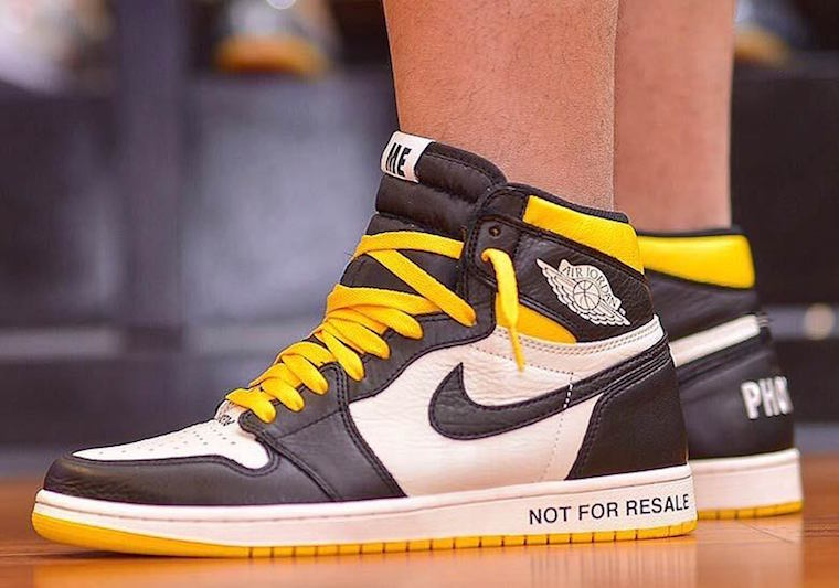 promo code 5e619 904db Air Jordan 1 No Ls Varsity Maize 861428-107