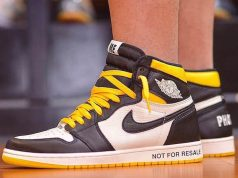 Air Jordan 1 No Ls Varsity Maize 861428-107