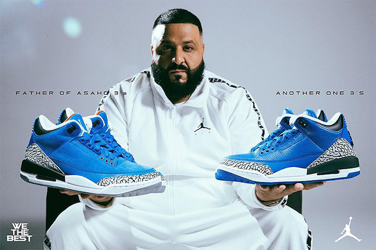 DJ Khaled Air Jordan 3 Another One Air Jordan 3 Father of Asahd