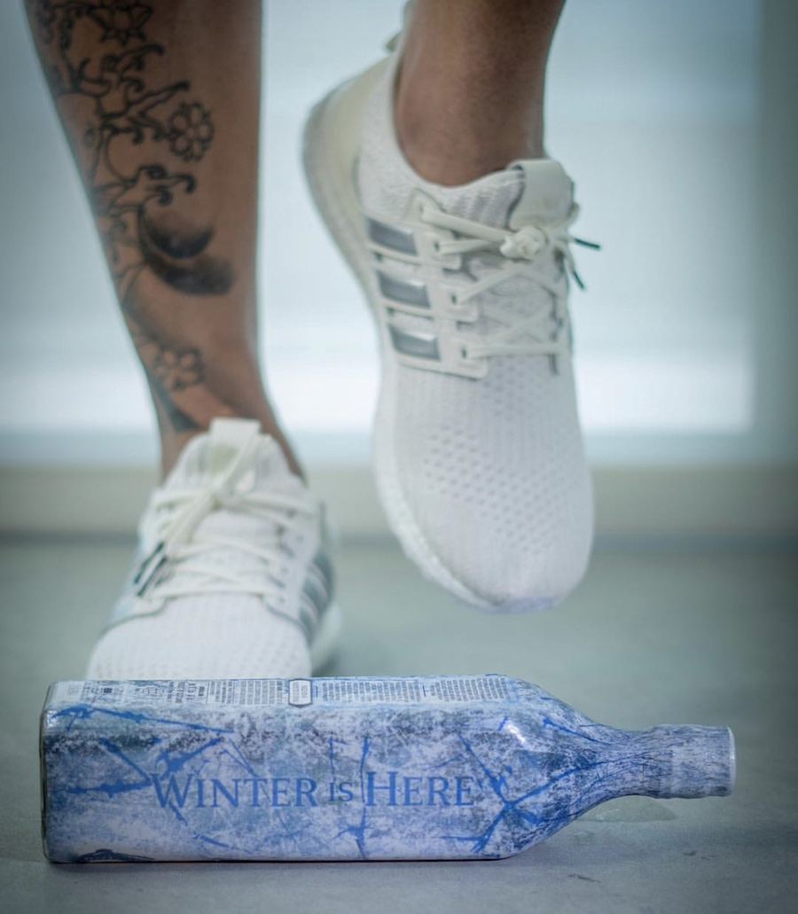 Game of Thrones adidas Ultra Boost House Targaryen On Feet