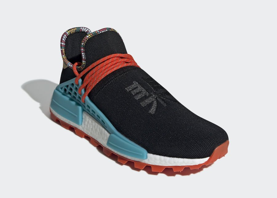 Pharrell adidas NMD Hu Black EE7582 inspiration Pack Release Date