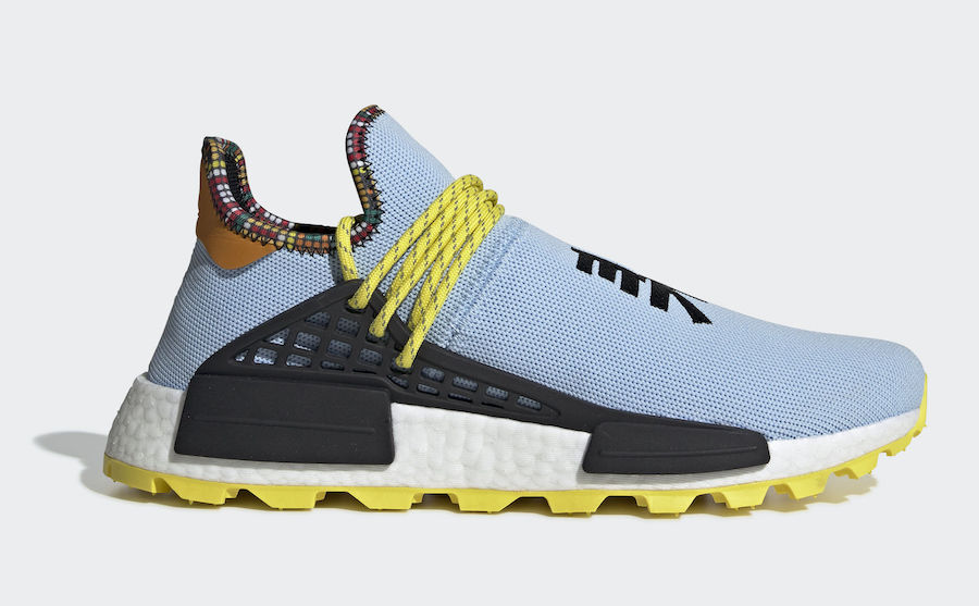 Pharrell adidas NMD Hu Clear Sky Blue EE7581 Inspiration Pack Release Date