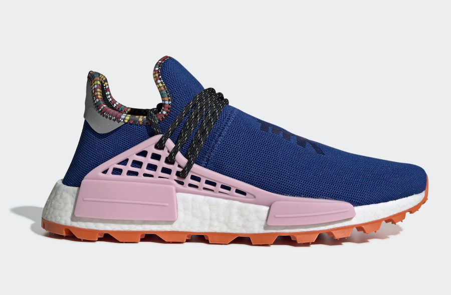 Pharrell adidas NMD Hu Powder Blue EE7579 Inspiration Pack Release Date