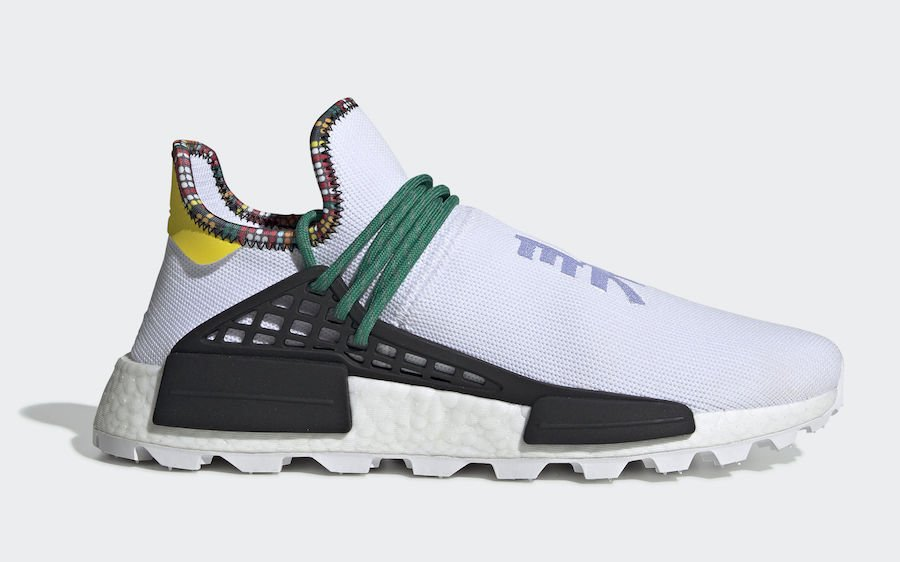 4df80c025 Pharrell adidas NMD Hu White EE7583 Inspiration Pack Release Date