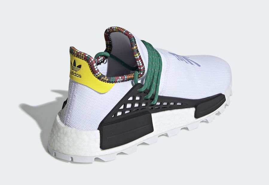 Pharrell adidas NMD Hu White EE7583 Inspiration Pack Release Date