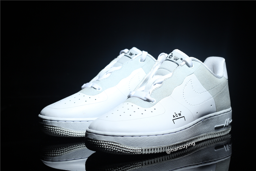 A-Cold-Wall Nike Air Force 1 Low White BQ6924-100 Release Date