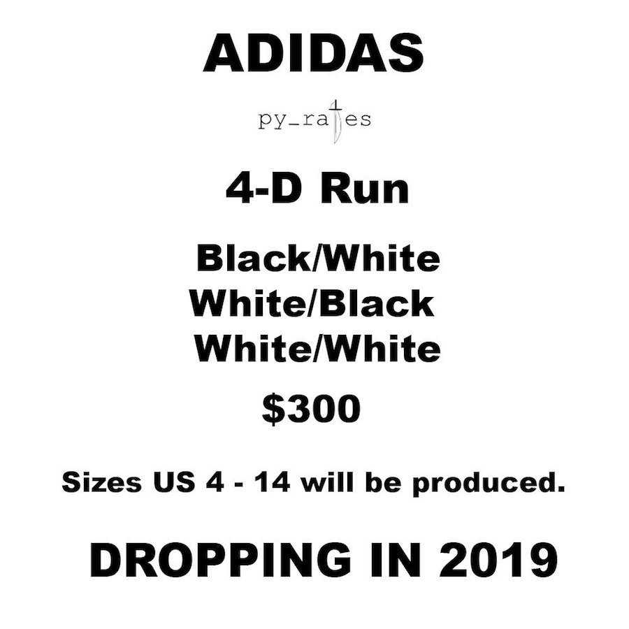 adidas 4D Run Colorways Release Date