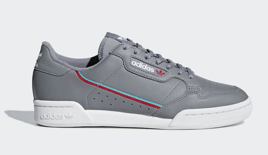 adidas Continental 80 Grey B41671 Release Date