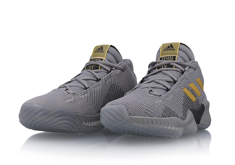 adidas Pro Bounce Low 2018 Grey Gold AH2683