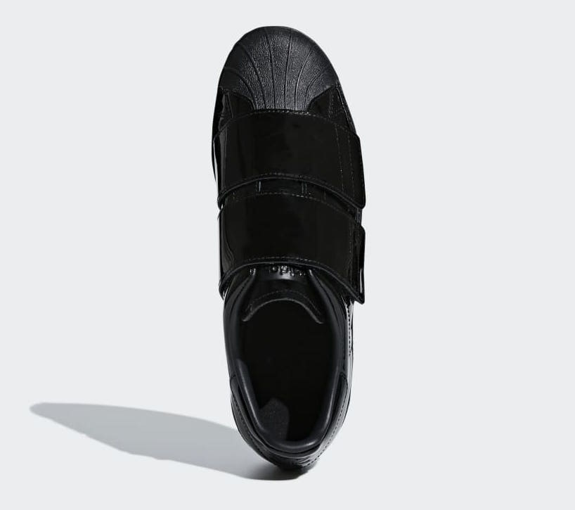 adidas Superstar 80s CF Black Patent B28046