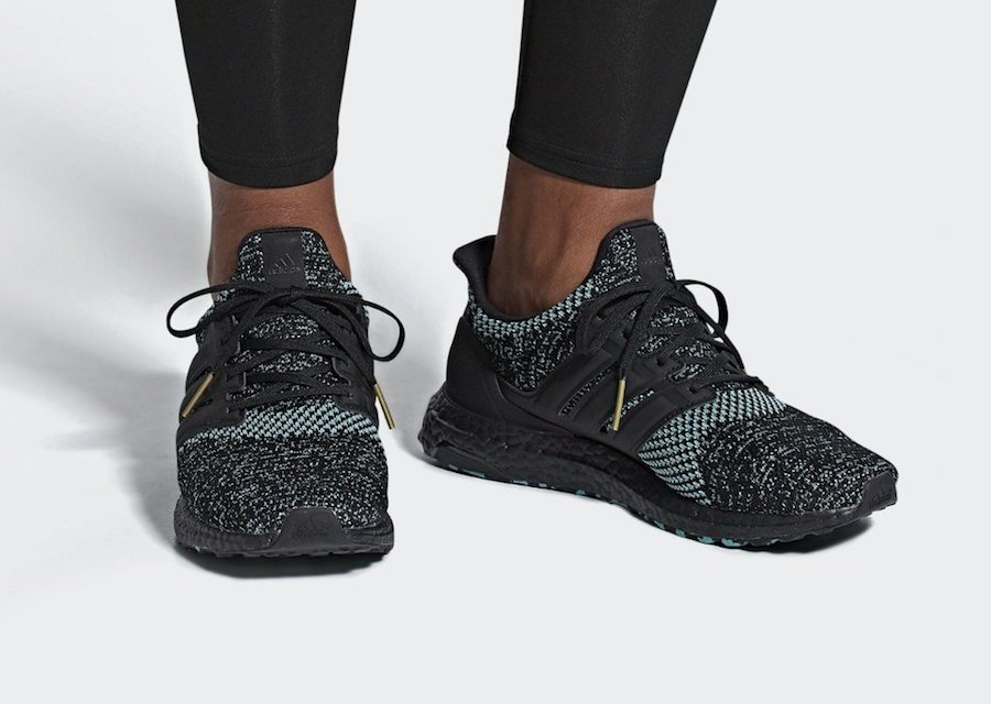 adidas Ultra Boost Core Black True Green Release Date
