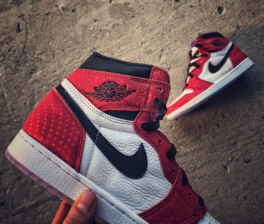 Air Jordan 1 Chicago Crystal Clear Sole