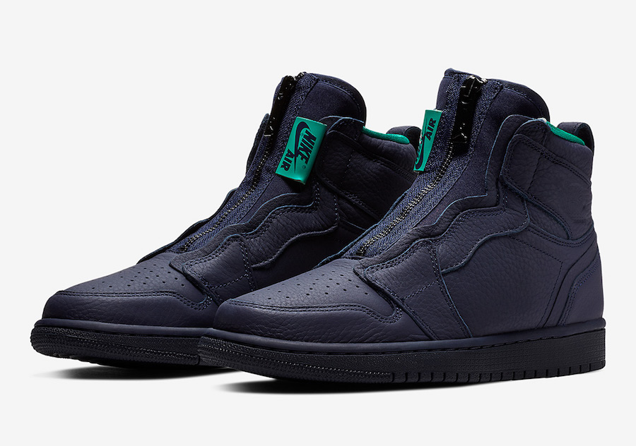 Air Jordan 1 High Zip Hornets AQ3742-403