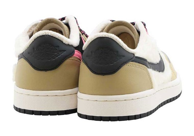 Air Jordan 1 Low Sherpa Fleece AQ0828-200