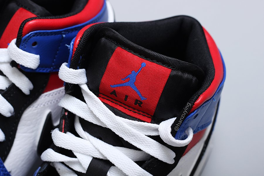 air jordan 1 blue red white black