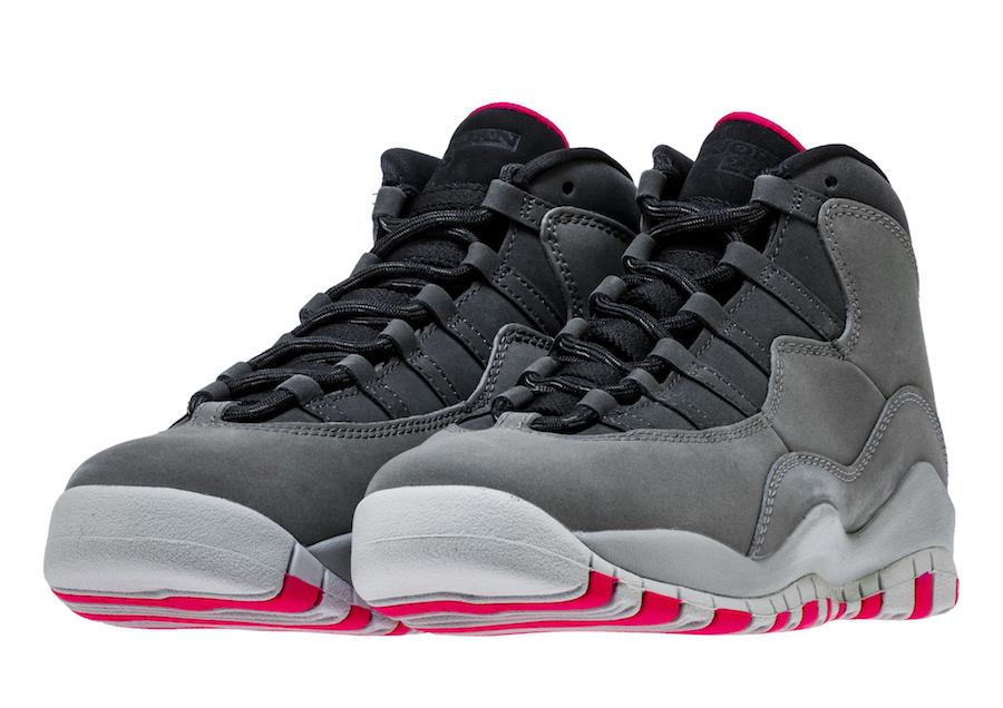 Air Jordan 10 Dark Smoke Grey 487211-006