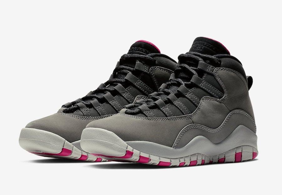 Air Jordan 10 Dark Smoke Grey 487211-006 Release Date