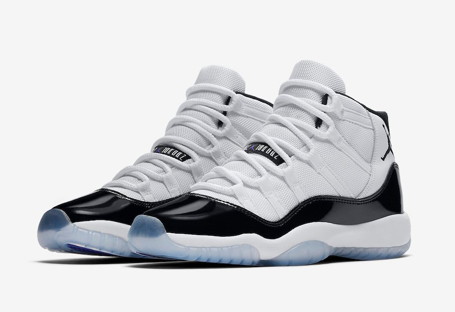 wholesale dealer eb70c abcc3 Air Jordan 11 Concord Grade School Sizes