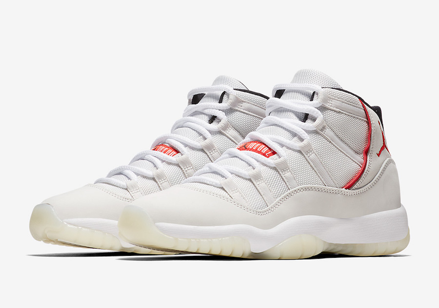 Air Jordan 11 Platinum Tint GS Kids