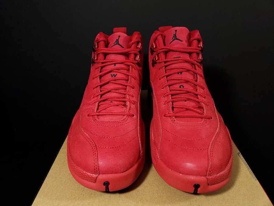 purchase cheap 320dc cb513 Air Jordan 12 Bulls Gym Red Black 130690-601 | SneakerFiles