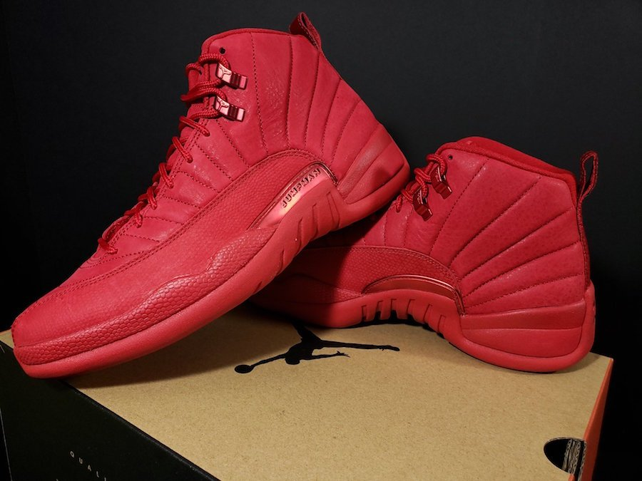 purchase cheap 28b7c 60d32 Air Jordan 12 Bulls Gym Red Black 130690-601 | SneakerFiles