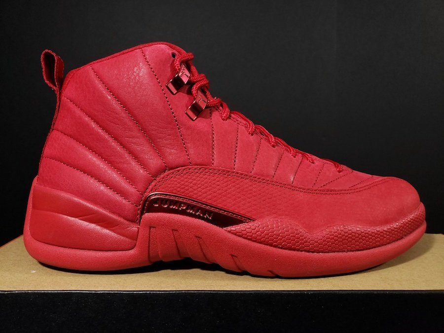 Air Jordan 12 Bulls Gym Red Black 130690-601  b07d48399